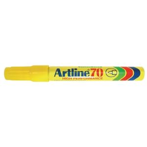 Permanent marker Artline 70, 1,5 mm, gul