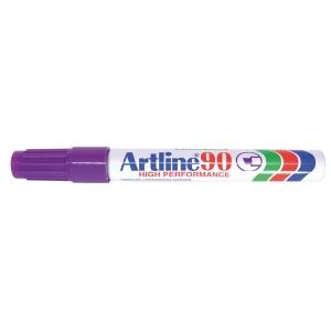 Permanent marker Artline 90, 2,5 mm, lilla