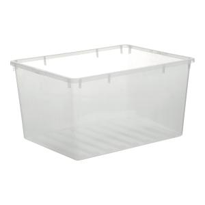 Basic Opbevaringskasse, 130 L, klar