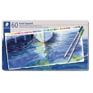 Akvarelfarveblyanter Staedtler, assorterede farver, pakke a 60 stk.