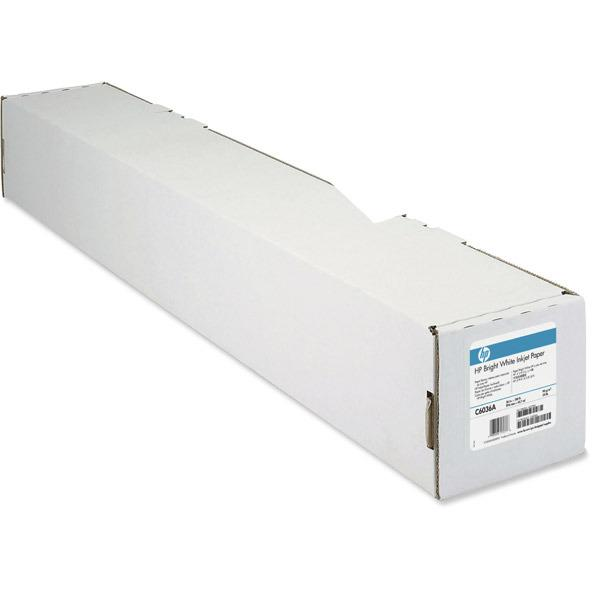 WHITE INKJET PAPIR HPC6036A BRIGHT  36' 90 RULLE