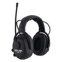 Hörselskydd Zekler Skydda 412rd radio svart