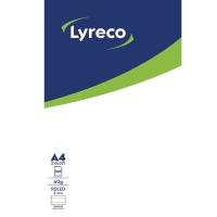 BLOCK LYRECO LINJERAT LIMMAD ÖVERKANT A4