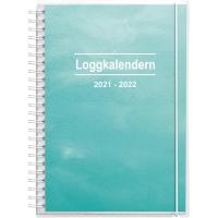 KALENDER LOGGKALENDERN 90 1259 2 ILL. A5 148X210 MM