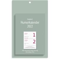 KALENDER BURDE 91 1310 VÄGGPLÅN MED DAGBLOCK HUMOR ALMANACKA 140X225MM