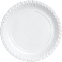 PAPPTALLRIK DUNI PLASTBELAGD 18 CM 100 ST/PÅSE