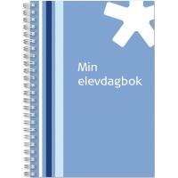ELEVDAGBOK MIN 92 1254 00 A6 BLÅ