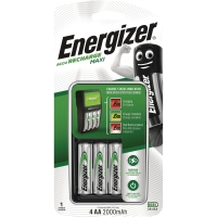 BATTERILADDARE ENERGIZER MAXI M/4AA EU-PLUGG