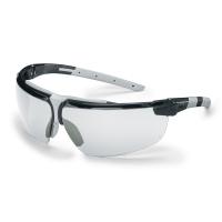 Skyddsglasöga Uvex 9190.280 i-3 klar lins svart/ljusgrå