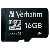 MICRO SDHC VERBATIM CLASS 10 16GB