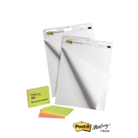 VALUE PACK PK2 POST-IT 559 MEETING CHART+PK4 POST-IT 6445-SS