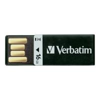 USB VERBATIM CLIP-IT 2.0 16GB SVART
