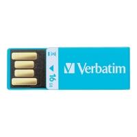 USB VERBATIM CLIP-IT 2.0 16GB BLÅ