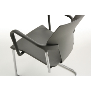 AKTIVA MEETING CHAIR H46/78CM GRY