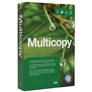 KOPIERINGSPAPPER MULTICOPY A4 115G 400 ARK/BUNT
