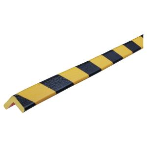 Kantskydd Knuffi typ E PU 1m svart/gul