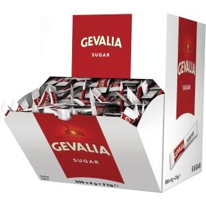 Socker Gevalia, förp. med 500 portionspåsar, 4g per påse