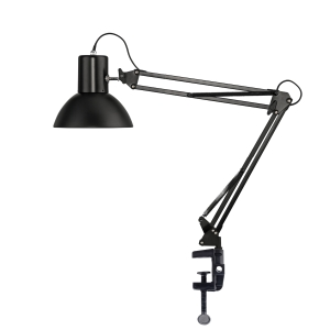 BORDSLAMPA UNILUX SUCCESS 66 LED SVART