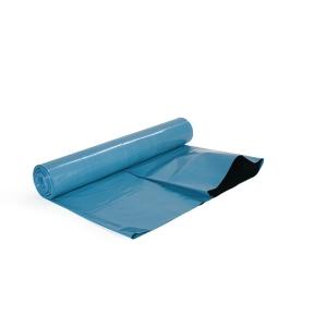 Sopsäck 65my 87x140 blå/svart 10 st/rulle