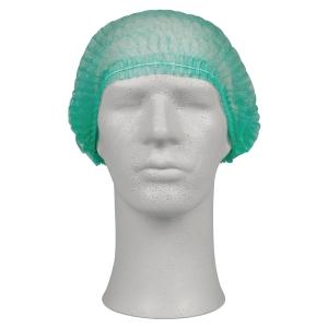Hårnät 210604 onesize 53 cm grön, 200 st/fp