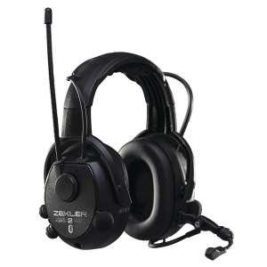 Hörselskydd Zekler Skydda 412RDB radio svart