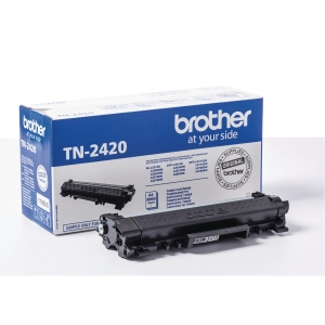 Lasertoner Brother TN2420 sort 3000P