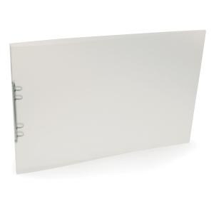 Ringpärm Plast Petter, A3 liggande format, 16 mm, transparent