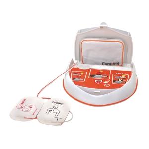 Hjärtstartare AED CardiAid helautomatisk, svenskt tal