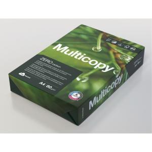 Multifunktionspapper Multicopy Zero hålat A4 80 g 500 ark/fp