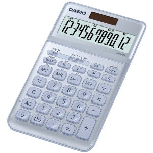 Bordsräknare CASIO jw-200sc 12-siffrig blå