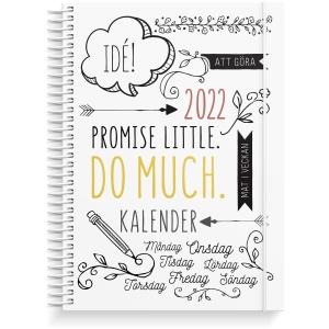 Kalender Burde Doodle 91 1222 A5