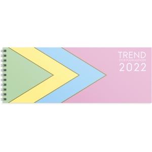 Kalender Burde 91 1359 Stor Plankalender Pastell 510x95mm