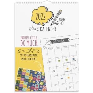 Kalender Burde 91 1770 Doodle A3