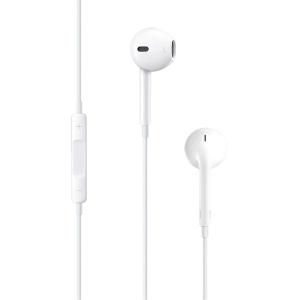 Hörlurar Apple EarPods, 3,5mm teleplugg, vita