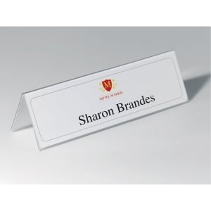 DURABLE 8053 NAME HOLDER PVC 105x297MM