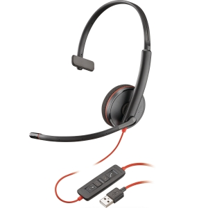 Plantronics 209744-01 C3210 Monaural PC Headset