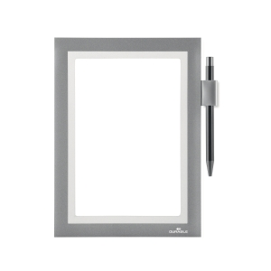 Duraframe Note Durable med pennhållare, A5, silver