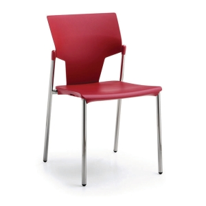 ACTIVA CANTEEN CHAIR RED