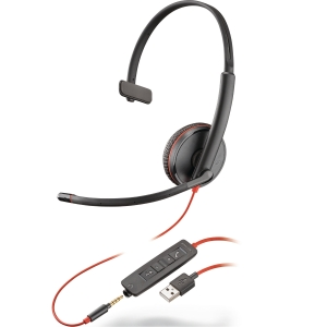 PLANTRONICS 209746 C3215 BW H/SET
