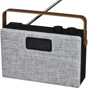 Radio CLINT F7 Stereo DAB+ och FM svart/grå