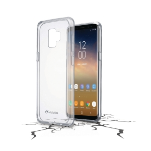 Skal Cellularline Clear Duo Samsung Galaxy S9+