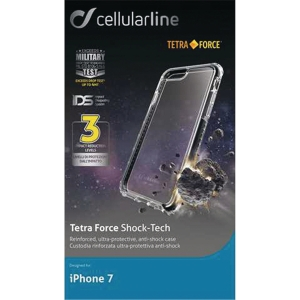 Skal Cellularline Tetra Force shock-tech svart