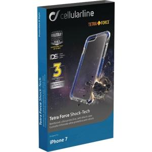 Skal Cellularline Tetra Force Iphone 7/8 blå