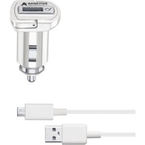 Laddare Cellularline Adaptivt kit Micro USB 15W vit
