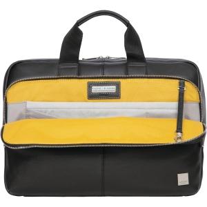 Väska Knomo Newbury sgl zip skinnväska 15 tum