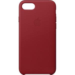 Läderskal APPLE iPhone 7/8 röd