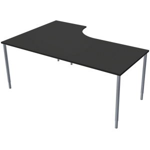 LANAB STAND/TABLE LEFT 180X120CM ANTHRA