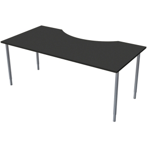 LANAB TABLE 180X80CM ANTHRACITE