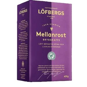 Kaffe Löfbergs lilabrygg mellanrost 450g