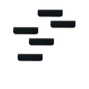 Klämma för upphängning Durable Durafix, svart, förp. med 5st.